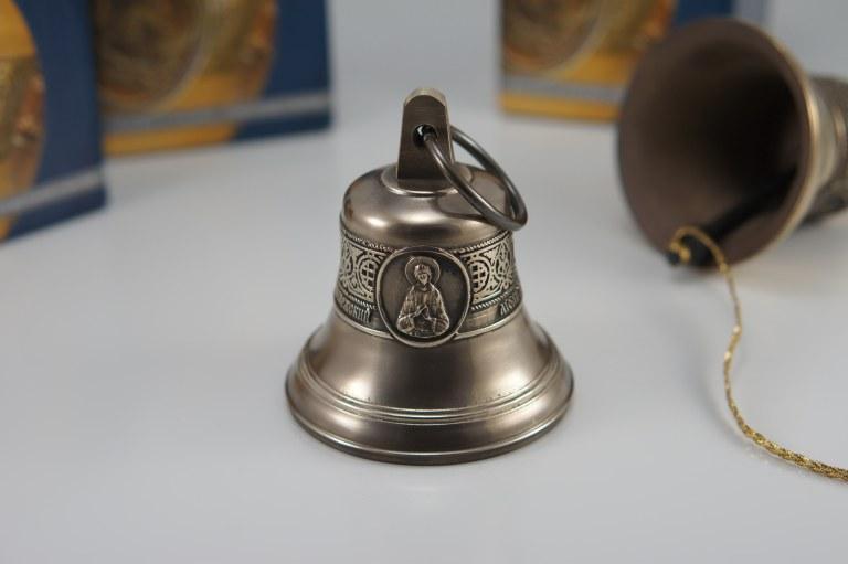 Святой преподобный Аркадий Вяземский (Новоторжский чудотворец), Икона, Колокол, Сувенир, Подарок верующему, Подарок православному