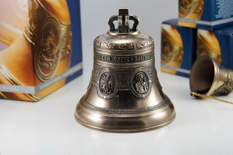"""Колокол 3кг """"Юбилейный пять ликов святых"""", Икона, Колокол, Сувенир, Подарок верующему, Подарок православному"""