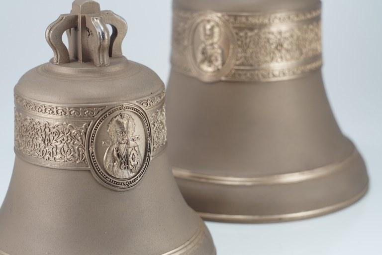 """Колокол 3кг """"Святой Николай Чудотворец"""", Икона, Колокол, Сувенир, Подарок верующему, Подарок православному"""