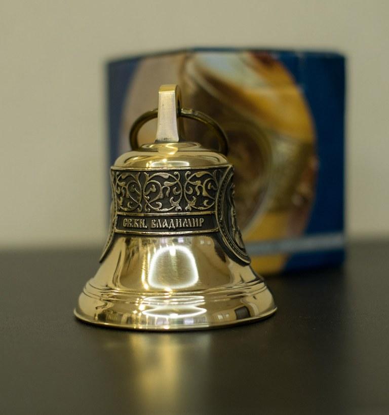 Святой равноапостольный князь Владимир, Икона, Колокол, Религиозный Сувенир, Православный подарок