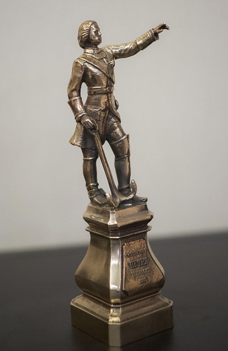 Скульптура бронзовая Купить Петр I