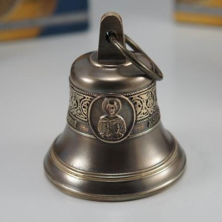 Святой мч. Евгений Севастийский, Икона, Колокол, Сувенир, Подарок верующему, Подарок православному